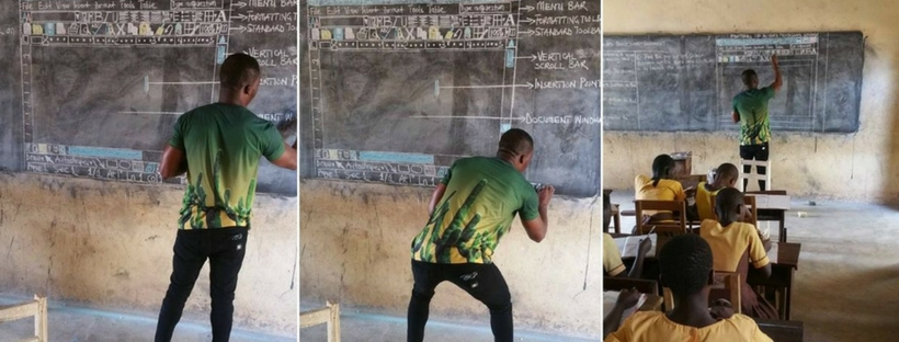 richard-akoto-ghana-teaching-ms-word