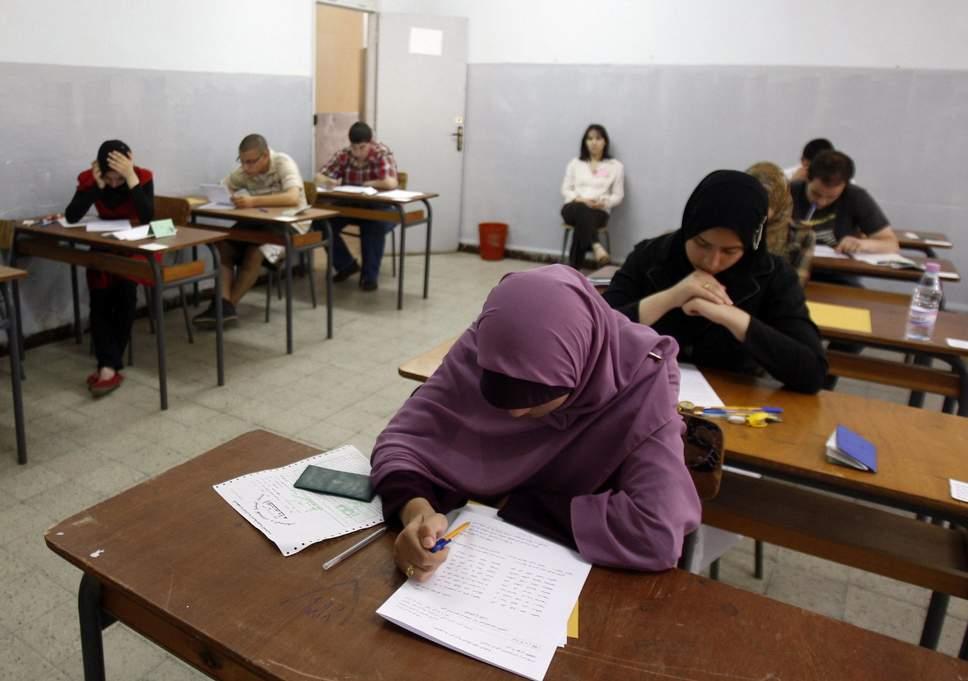 algerian-students-exam