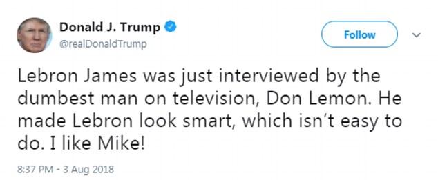 trump-lebron-tweet