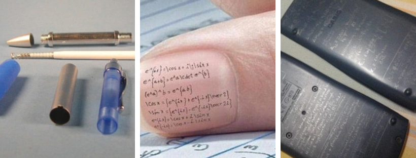 7 Creative Ways Student Can Cheat In Exam You've Never Heard