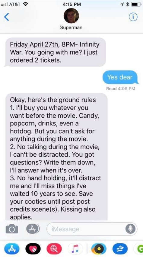 dating rules for girls
