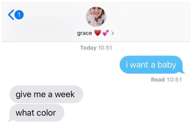 "11 BEST ""Text Your Boyfriend 'I Want A Baby'"" Twitter Reactions"