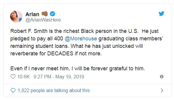 twitter-reacts-robert-f-smith-donation-06