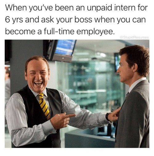 9 Relatable Summer Internships Memes For Students To Laugh At