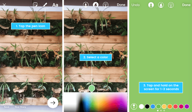 how-to-create-instagram-stories-solid-bakground-color